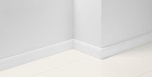 Parador Fußleisten Boden Sockelleiste HL 1 Uni Weiss Dekor D002