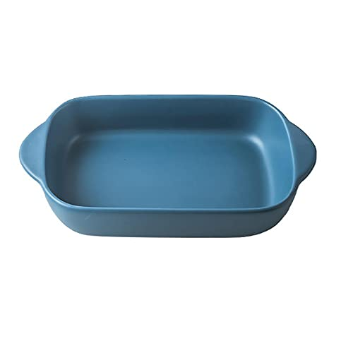 1 Piece Baking Sheet Fruit Tray Home Baking For Cooking Microwave Oven Dark Blue