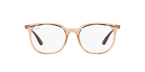 Ray-Ban 0RX7190 Gafas, LIGHT BROWN, 51 Unisex Adulto