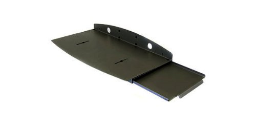 Ergotron 77-050-200 Keyboard Wrist Rest Assembly, Drawer with Mouse Tray, Black
