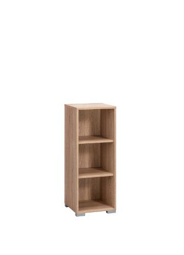MAJA-Möbel 1735 5525 Aktenregal, Sonoma-Eiche-Nachbildung, Abmessungen BxHxT: 42.1 x 109.7 x 40 cm