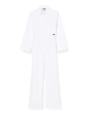 Portwest 2802WHRS - Boilersuit estándar, color Blanco, talla Small