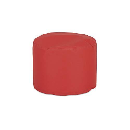 knorr-baby 440105 - Sgabello rotondo, misura M, colore Colore: rosso