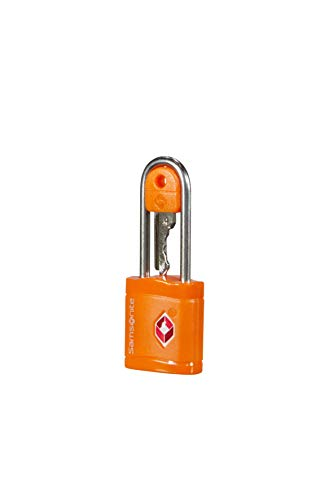 Samsonite Global Travel Accessories TSA Key Luggage Lock, 6 cm, Orange