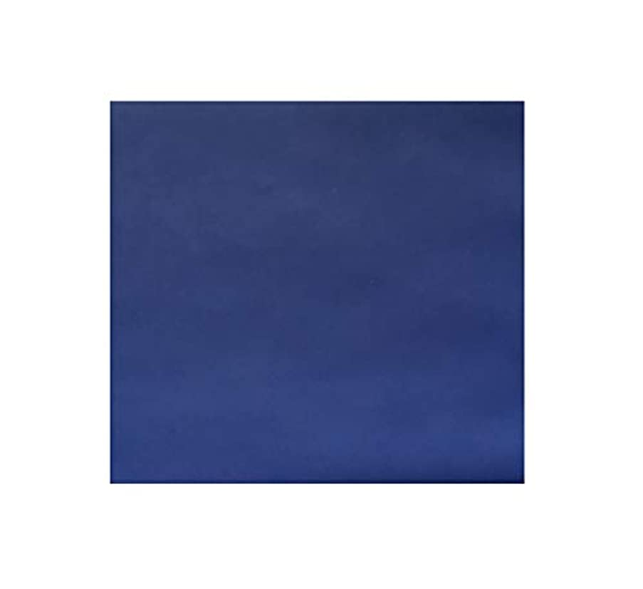 Gourd Faux Leather Fabric Soft Smooth Vinyl Upholstery, 36in x 60in (Blue)