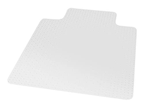 MyOfficeInnovations 567298 45 x 53 Low Pile Carpet Chair Mat, Lip