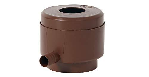 Garantia Regentonnen Füllautomat (Regensammler, Fallrohrgrößen 70-100 mm, Regenwassersammler für Dachflächen bis max. 50 m²) 503010