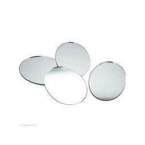 10 Miroirs Ovales adhésifs - DTM