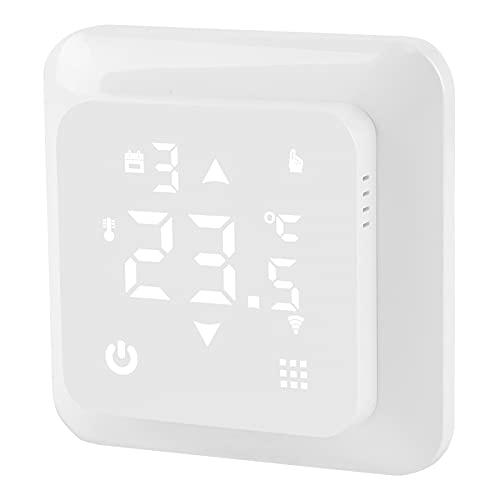 Controlador de termostato - HY517 Pantalla digital LED Controlador de termostato de temperatura inteligente, Botón táctil Termostato de calentamiento de agua eléctrico(WiFi Electric Heating)