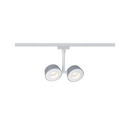 Paulmann LED Stromschienensystem URail Systems Spot Double Pellet | LEDs fest verbaut 4W 294lm warmw