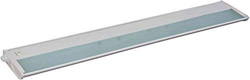 Maxim 87843WT, CounterMax MX-X120c Under Cabinet Light, 4-Light Xenon 20 Watts, 30u0022L x 5u0022W, 2900K, Dimmable, White