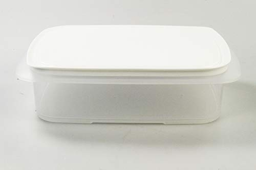 Tupperware Cool apilable 1,5L envase+Cool apilable Cubierta Blanco 34102
