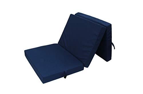 HERLAG Klappmatratze Senior (Farbe blau, Maße 195x85x10 cm,...