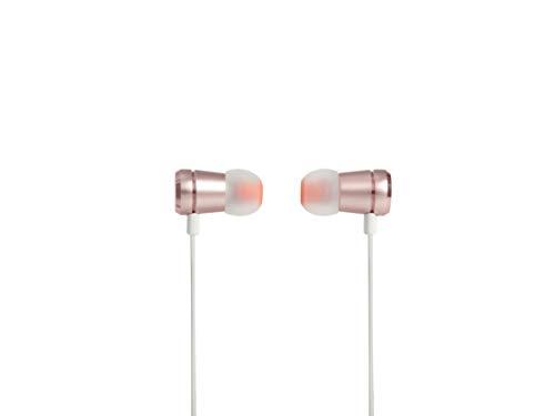 JBL Tune 290 - Auriculares Intraaurales de 102 dB, Rosa (Golden Rose)