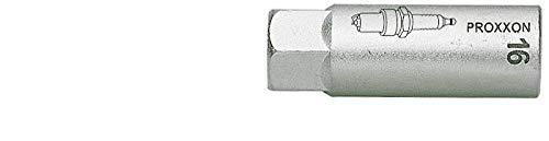 PROXXON 23541 Zündkerzen Nuss mit TPR Einlage 19mm Antrieb 10mm (3/8