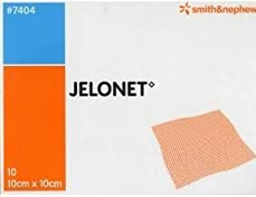 Jelonet 10cm x 10cm Dressing (x10) by Smith & Nephew