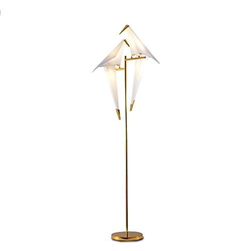 PIAOLING Lampadaire LED Bird - Lumière Moderne très Lumineuse pour Le Salon ou Le Bureau - Lampadaires contemporains et Hauts