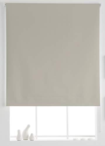 Estoralis Aral Estor Enrollable Liso, Beige, 110x175 cm