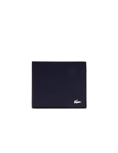 Lacoste NH1112FG, Portamonete Uomo, (Peacoat), 9.5 x 3 x 11.5 cM