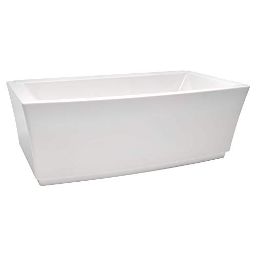 Learn More About American Standard 2691004.020 Townsend 68 in. Acrylic Freestanding Soaker Bathtub, ...