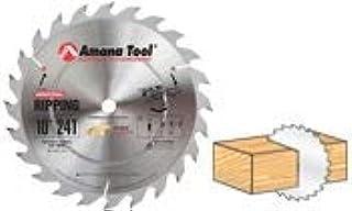 "Amana Tool - 610240 Carbide Tipped Ripping Standard 10"" Dia x 40T', 20 Deg, 5/8 Bore"