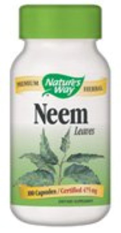 シロクマ三角中古海外直送品 Nature's Way Neem, 100 Caps