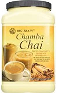Big Train Chamba Chai Spiced Tea Latte Mix, 4 Pound Sold By HERO24HOUR Thank You
