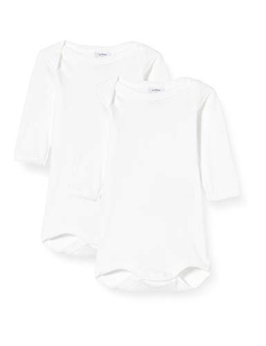 Petit Bateau 5371000 Body, Bianco (Marshmallow Zwm), 12-18 (Taglia Produttore: 18 Mesi) Unisex-Bimbi