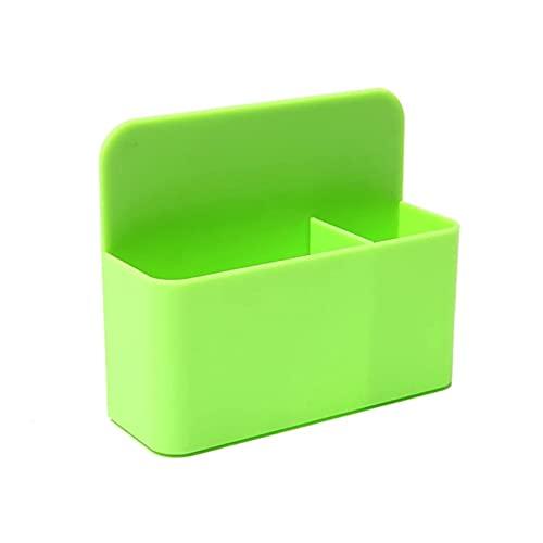 Pole magazynowe Magnesy Tablicy Magnetyczne Ołówek Uchwyt Organizator Przechowywanie Pojemnik biurowy Wykwintowany kunszt, trwałe i praktyczne pennhållare WSYGHP (Color : Green)