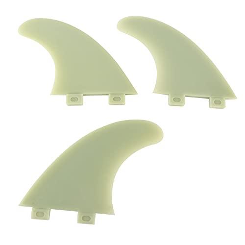 Aletas para tablas de surf, juego de aletas para tablas de surf Aletas para tablas largas para varios tipos de tablas de surf para tablas de surf y tablas de paddle surf para adultos y niños
