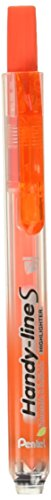 Pentel Handy-Line S Retractable and Refillable Highlighter, Chisel Tip, Orange Ink, Box of 12 (SXS15-F)