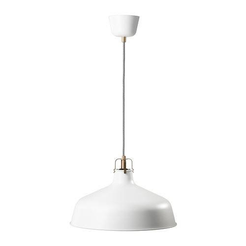 RANARP - Lámpara de techo, color blanco roto