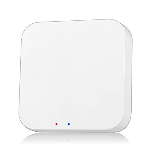 Puerta de enlace de hogar inteligente Hub de amplia cobertura Control remoto Smart Life APP Works Conector para puente Tuya Zigbee 3.0