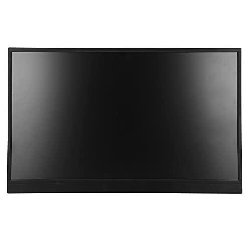 Monitor portátil (1600 x 900) Monitor para Juegos de 17,3 Pulgadas Pantalla Industrial Monitor de PC con relación de Pantalla 16: 9 con Altavoces duales incorporados para Juegos en Pantalla Grande