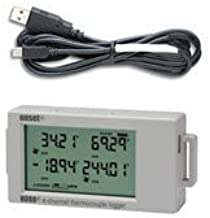 Onset HOBO UX120-014M 4-Channel Thermocouple Data Logger w/ USB Cable