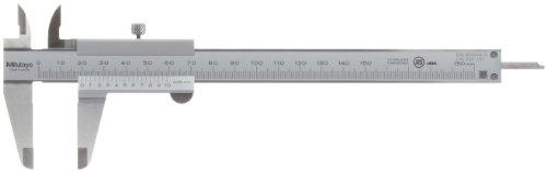 MITUTOYO 530-101 Präzisionsmessschieber m. Feststellschr. DIN 862 Messbereich 0-150mm