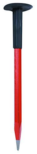 TEC HIT 106111 - Pointerolle maçon - Corps octogonal - Pointe en acier - 300 x 16 mm