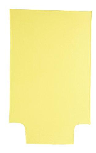 P'tit Basile - housse de couette 100x140 cm bébé - enfant - Coloris jaune - été ou hiver - Coton bio de qualité supérieure, Tissage serré pour plus de douceur