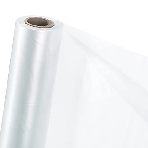 HaGa® UV5 Gewächshausfolie in 4,5m Breite (Meterware) - Folientunnel UV-beständig- transparente Treibhausfolie - winterfeste Folie