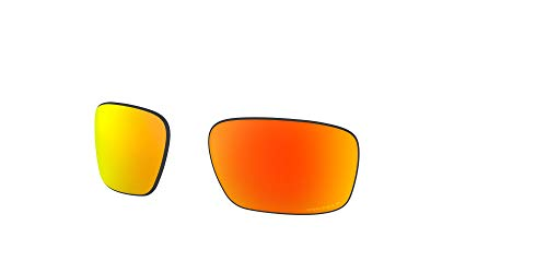 Oakley AOO9409LS Sliver Stealth Sport Replacement Sunglass Lenses, Prizm Ruby Polarized, 57 mm