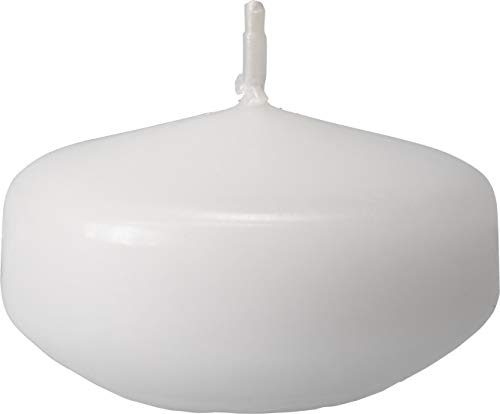 safe candle 20 Small Floating Candles - 4 Hour Burn Time (White)