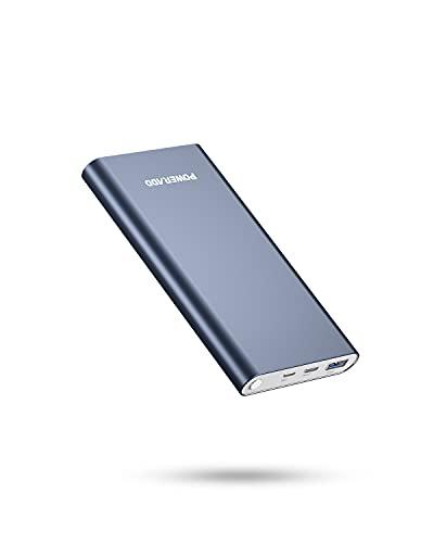 Power Bank 12000 mAh PD 20 W con USB C 8 pin conector QC 3.0 batería externa con Power Delivery 20 W Quick Charge 3.0 cargador rápido adecuado para iPhone, iPad, Sumsung Galaxy, Huawei