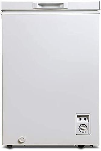 CHiQ congélateur FCF98D, 98 litres, blanche, faible consommation, 40db, 12 ans de garantie sur le compresseur