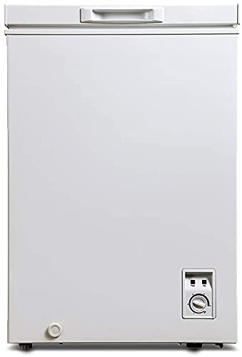 CHiQ Congelador FCF98D, 98 litros, 56.8cm de ancho, blanco, bajo consumo, 40 db, 12 años de garantía en el compresor (98 Litros)