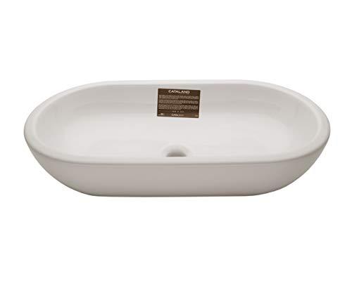Catalano Keramik Waschtisch Modell Sfera weiß oval 50x35x15cm