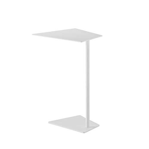 Jcnfa-Mesas Mesa Auxiliar de sofá en Forma de Hierro Forjado de Metal, Mesa Auxiliar para Ordenador portátil de Oficina de Ocio, Columna de Soporte de Metal