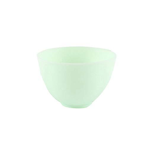 Cabilock Silikon Gesichtsmaske Schüssel Rührschüssel Mischschüssel Mischwerkzeug Schale für Damen Frauen Gesichtspflege DIY Maske