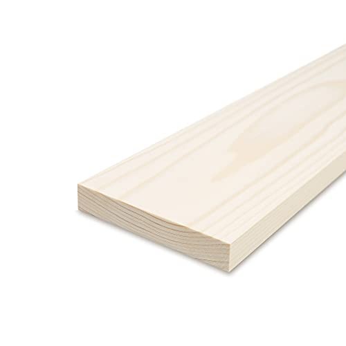 Glattkantbrett - Kiefer/Fichte gehobelt - 19 mm x 140 mm x 600mm