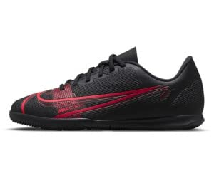 Nike Jr. Vapor 14 Club IC, Soccer Shoe, Volt/Bright Crimson, 38 EU