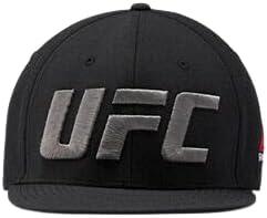 Reebok UFC Flat Peak Cap Black
